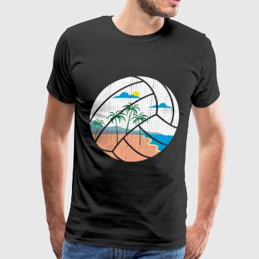 Beach Volleyball - Men's Premium T-Shirt