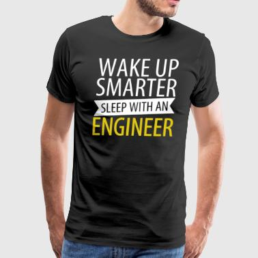 Sleep With An Engineer Shirt - Men's Premium T-Shirt