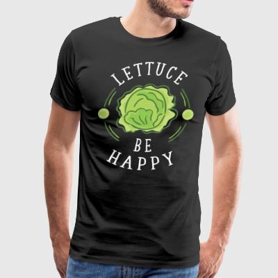 Lettuce be happy - Men's Premium T-Shirt