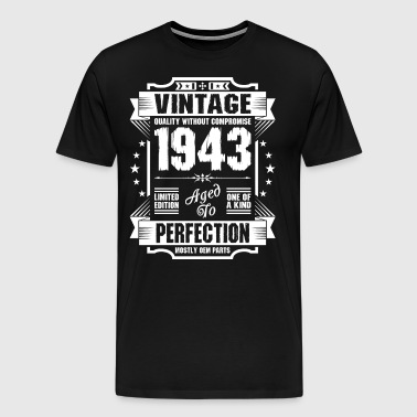 Vintage 1943 Perfection - Men's Premium T-Shirt