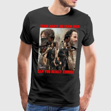 TEAM DARYL OR TEAM RICK CAN YOU REALLY CHOOSE? - Men's Premium T-Shirt