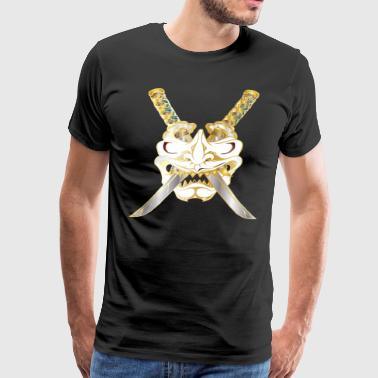 Swords of a Samurai - Men's Premium T-Shirt