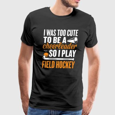 Hockey Tee Shirt - Men's Premium T-Shirt