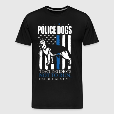Police Dogs Shirts - Men's Premium T-Shirt