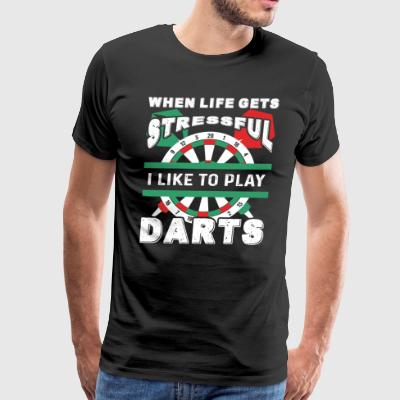 Darts Tee Shirt - Men's Premium T-Shirt