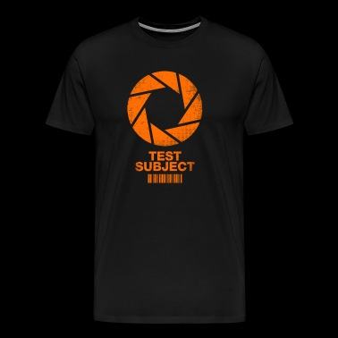 Aperture Science Test Subject - Men's Premium T-Shirt