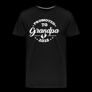 Promoted To Grandpa 2018 | Promoted To Grandpa - Men's Premium T-Shirt