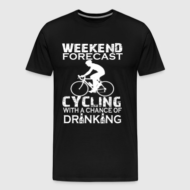WEEKEND FORECAST CYCLING - Men's Premium T-Shirt