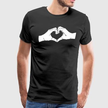 Heart Hands - Men's Premium T-Shirt
