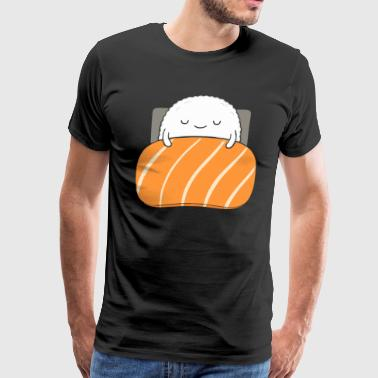 sleepy sushi - Men's Premium T-Shirt