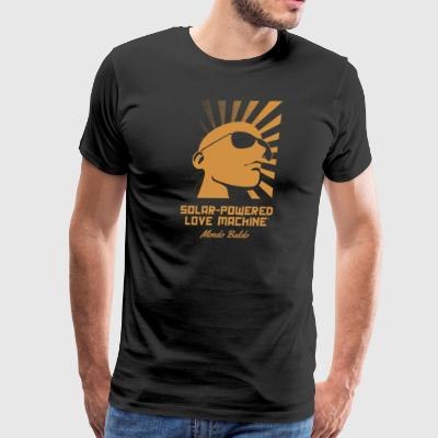 Solar-Powered Love Machine® - Bald icon - Men's Premium T-Shirt