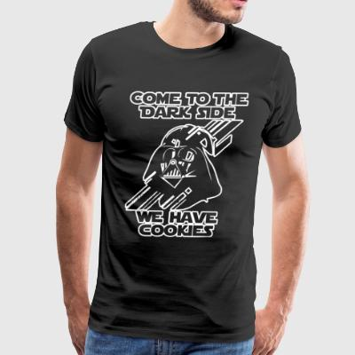 Come To The Dark Side We Have Cookies Funny - Men's Premium T-Shirt