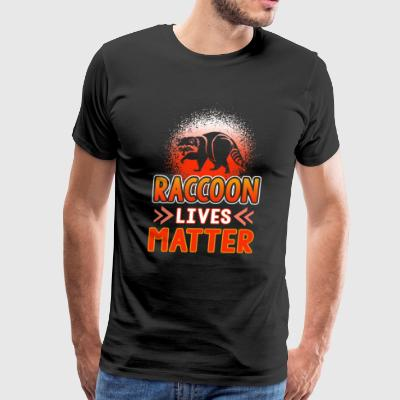 Raccoon Lives Matter Shirt - Men's Premium T-Shirt
