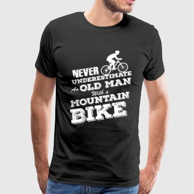 Mountainbike T-Shirt Present Birthday Gift Idea - Men's Premium T-Shirt