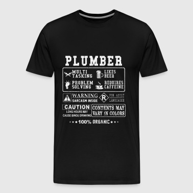 Plumber - Freaking awesome plumber t-shirt - Men's Premium T-Shirt
