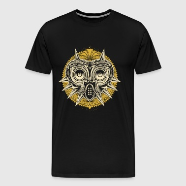 Owl mask with thorns - Limited edition - Men's Premium T-Shirt