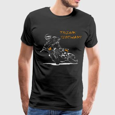 Supermoto Motard Drift - Men's Premium T-Shirt
