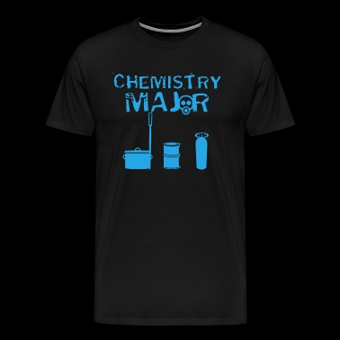 Chemistry Major T Shirt - Men's Premium T-Shirt