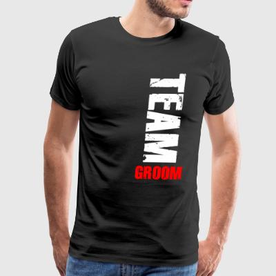 Groom T-Shirt Present Gift Birthday Funny Idea - Men's Premium T-Shirt