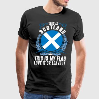 This Is Scotland - Men's Premium T-Shirt
