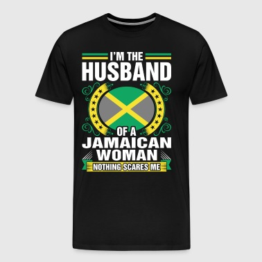 Im The Husband Of A Jamaican Woman - Men's Premium T-Shirt