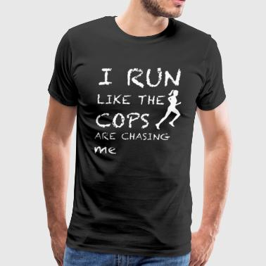 Running Shirt - Men's Premium T-Shirt