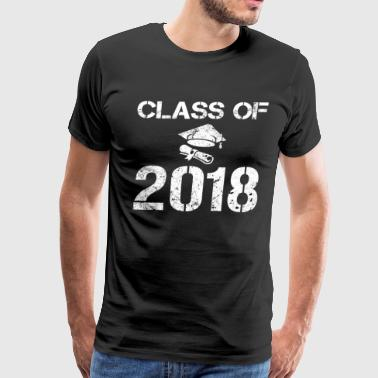 Class Of 2018 Graduation Senior High School Shirt - Men's Premium T-Shirt