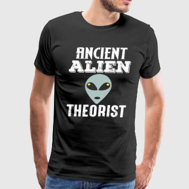 Ancient Alien Theorist - Men's Premium T-Shirt