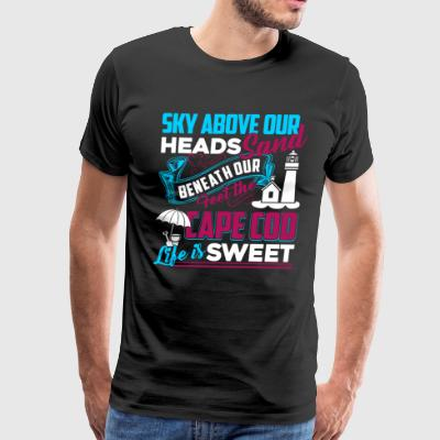 Cape Cod Life Is Sweet Shirts - Men's Premium T-Shirt
