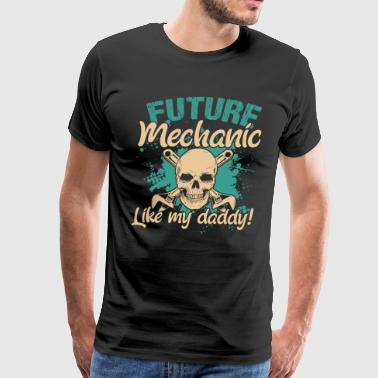 FUTURE MECHANIC TEE SHIRT - Men's Premium T-Shirt
