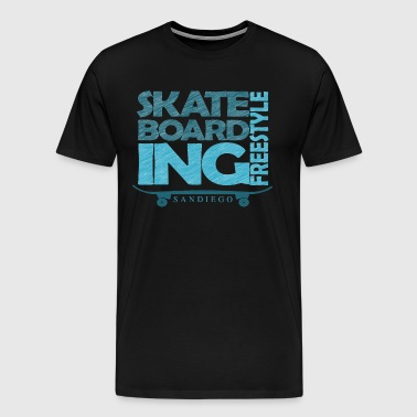 skateborading freestyle california - Men's Premium T-Shirt