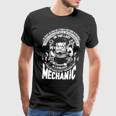 Last Of A Dying Breed Mechanic T Shirt - Men's Premium T-Shirt