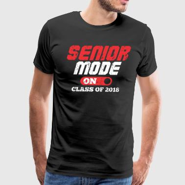 SENIOR MODE ON CLASS OF 2018 - Men's Premium T-Shirt