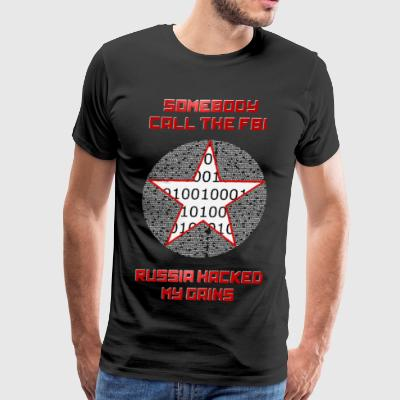 Russia Hacked My Gains - Men's Premium T-Shirt