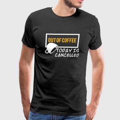 Coffee Tee Shirt - Men's Premium T-Shirt