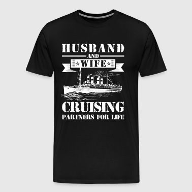 Husband And Wife Cruising Partners - Men's Premium T-Shirt
