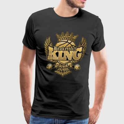 Basketball King - Men's Premium T-Shirt