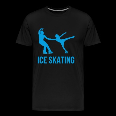 Ice Skating - Men's Premium T-Shirt