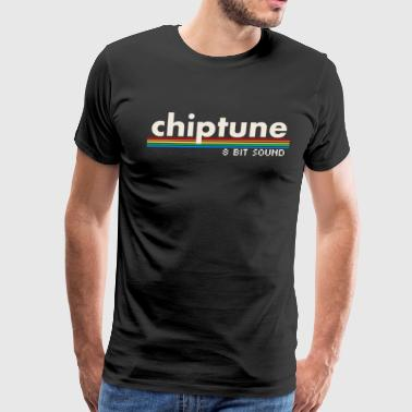 Chiptune - 8 Bit Sound - Men's Premium T-Shirt