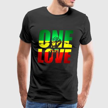 one love - Men's Premium T-Shirt