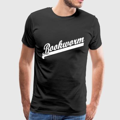 Bookworm - reading - books - Men's Premium T-Shirt