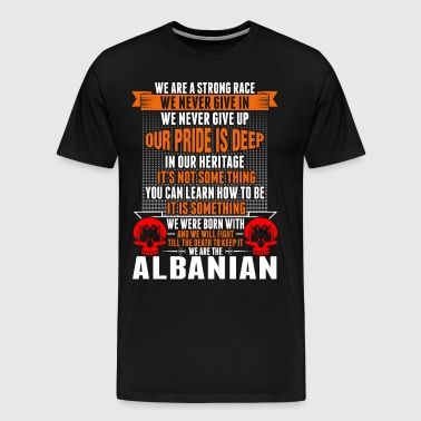 We Are The Albanian - Men's Premium T-Shirt