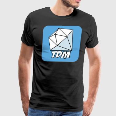 Fan Club for The Diamond Minecart DAN TDM - Men's Premium T-Shirt