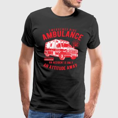 Ambulance Emergency Ride - Men's Premium T-Shirt