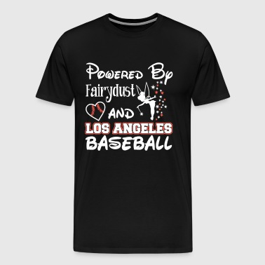 Los Angeles baseball - Powered by fairydust - Men's Premium T-Shirt