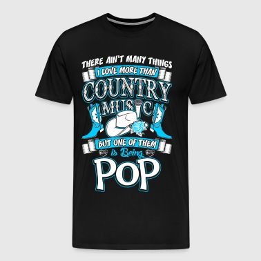 Country Music Pop - Men's Premium T-Shirt