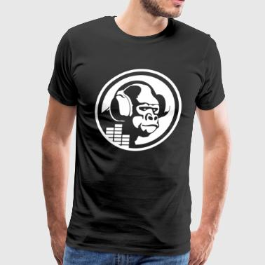 Headphones Gorilla - Men's Premium T-Shirt