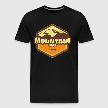 Mountain MDPL Vintage Style - Men's Premium T-Shirt