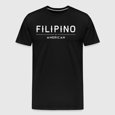 Filipino American Modern Culture - Men's Premium T-Shirt