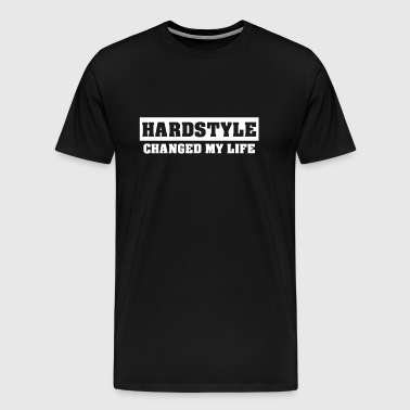 Hardstyle Merchandise | Hardstyle Changed my Life - Men's Premium T-Shirt